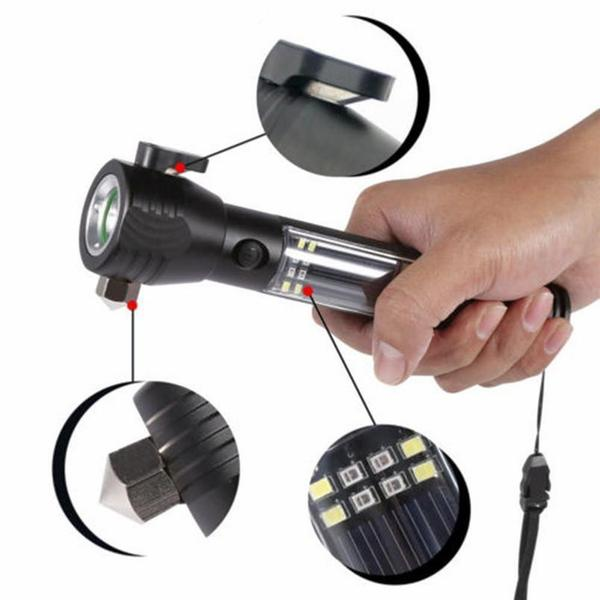 SAFETORCH® 9-in-1  Complete Emergency XXL tool for cars