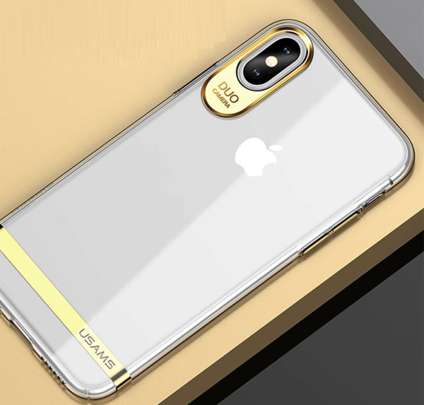 brand new c513d 91816 Luxury Electro Crystal Plated Case for iPhone X
