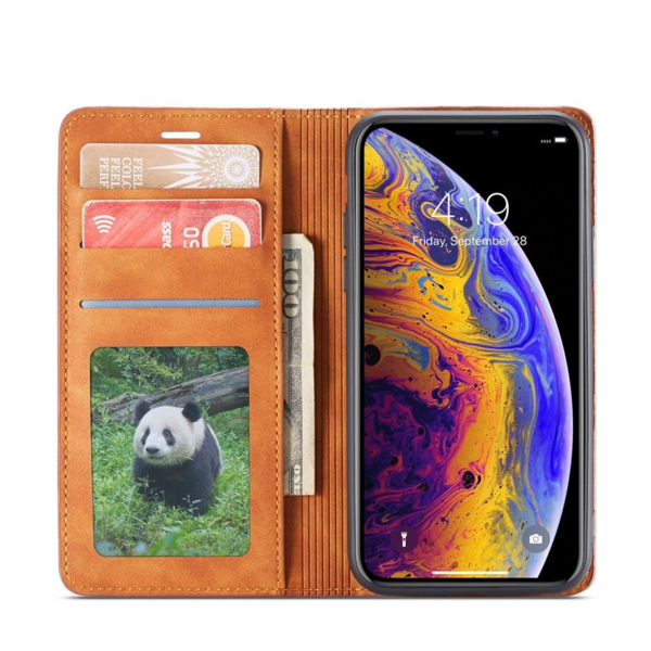 Flip Case®- Pu leather magnetic case for iPhone