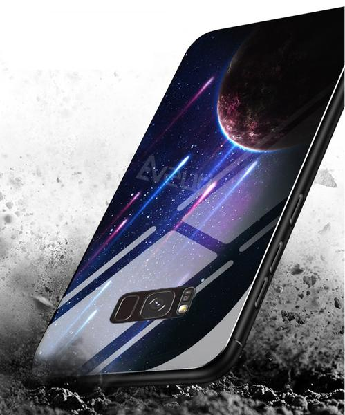 BLUEDEEP tempered glass case for Samsung