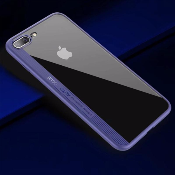 Auto-Focus Crystal Case for iPhone 7 / 8 / X