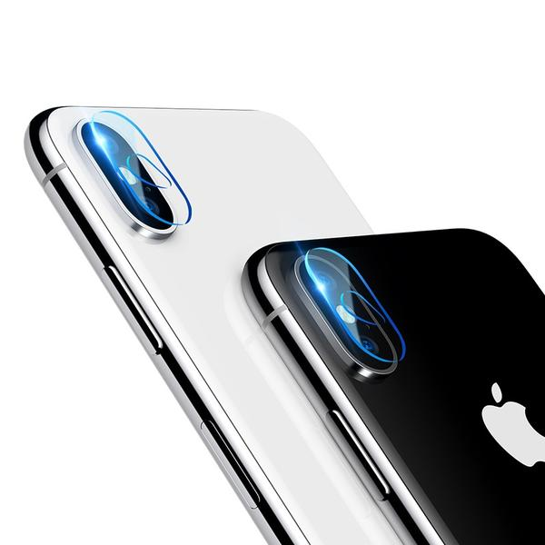 Tempered Camera Lens Screen Protection for iPhone X