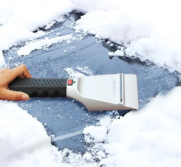 iSnow® - electric scraper for ice removal