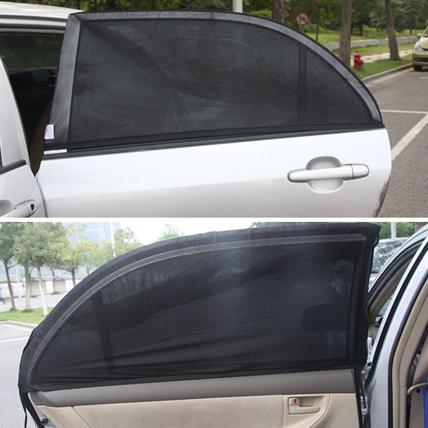 Adjustable professional sunshade for car windows