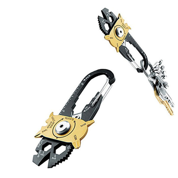 20 In 1 Multi-function Pocket Tool, Hammer Screwdriver Wrench Plier
