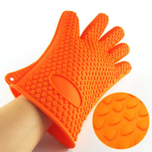 Heat-resistant glove for cooking