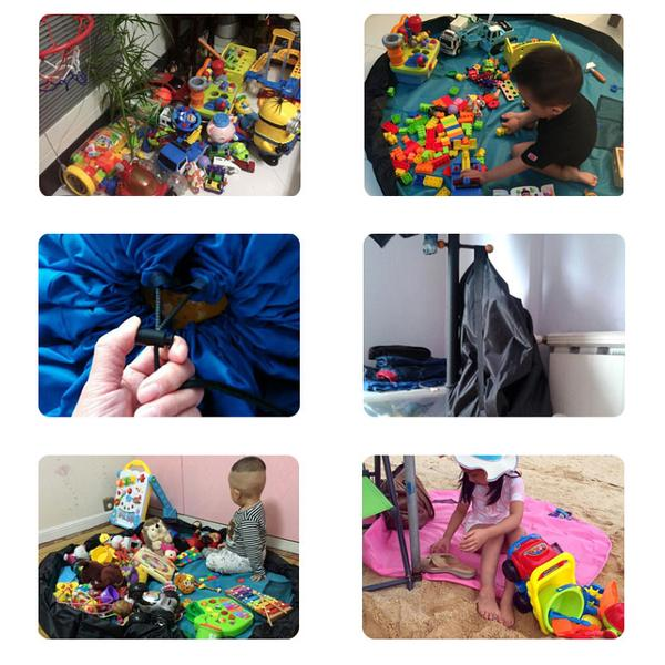 Bag/blanket for toys