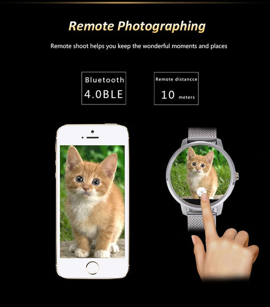 New Smart Watch with Camera Incorporated