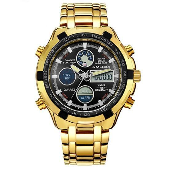 QUARTZ-B luxury sport wristwatch
