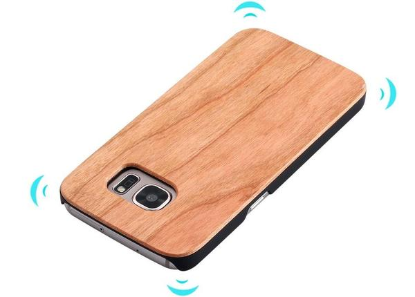 Bamboo wood case for Samsung