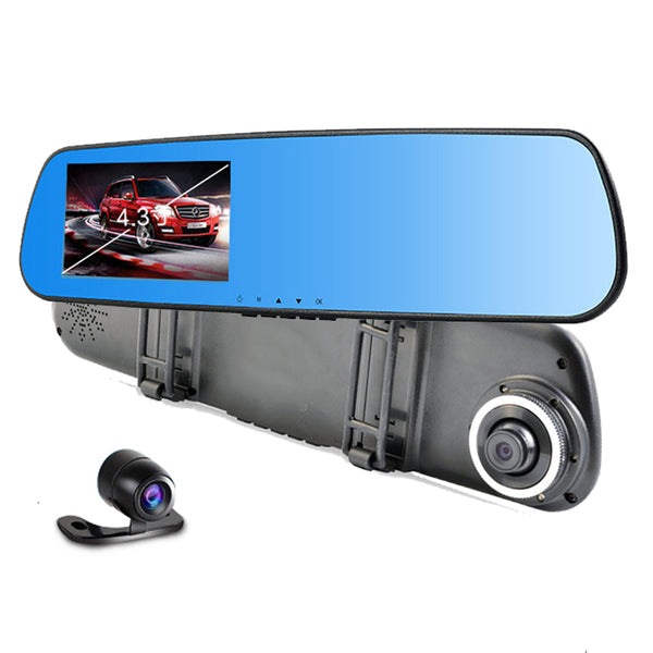 Rearview mirror with full HD camera