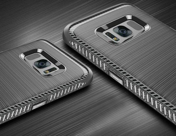 Anti-Drop Carbon Case for Samsung S8 and S8 Plus