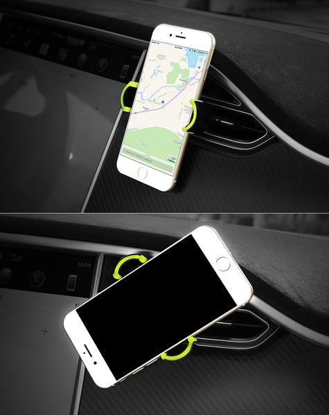 Smartphone support for cars