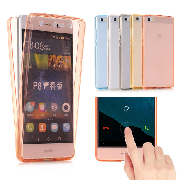 360 ° Full Body Transparent Case for Huawei