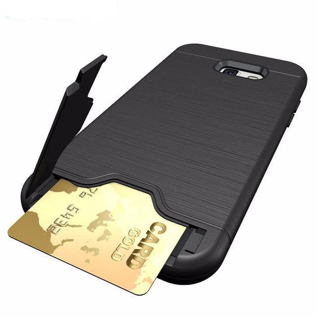 Case with credit card holder for Samsung Galaxy A5 2017