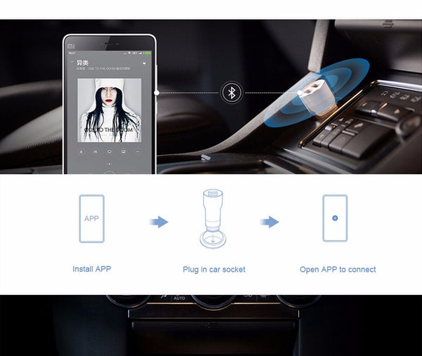 Bluetooth Music Player and Car Charger for Android