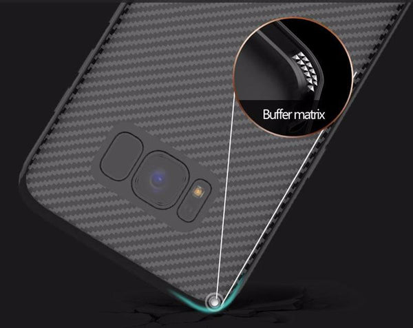 Business Carbon Fiber Case for Samsung