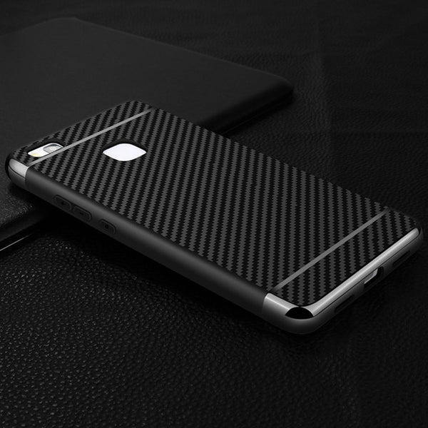 sale retailer 5f9b2 dd410 Luxury Hybrid Carbon Fiber Case for Huawei
