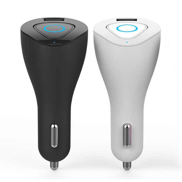 Wireless Mini Bluetooth Headset with Car Charger