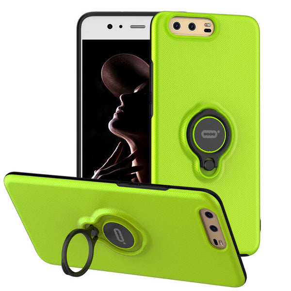 Case with magnetic support for Huawei