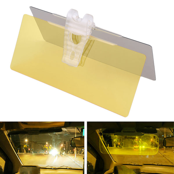Car universal rear mirror for daytime and night vision