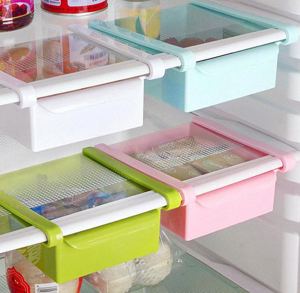 Space saving drawers (fridge storage)
