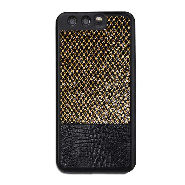 Business Style Luxury Texture Leather Case for Huawei