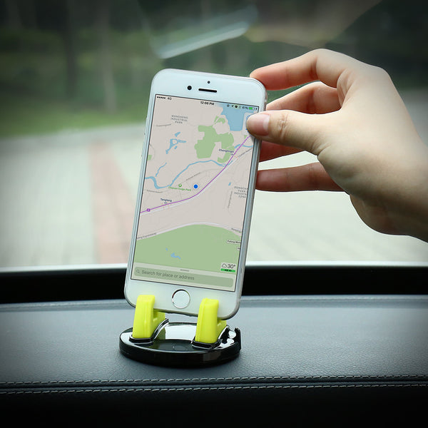 Multi-function rotating car support for Smartphone and Tablet