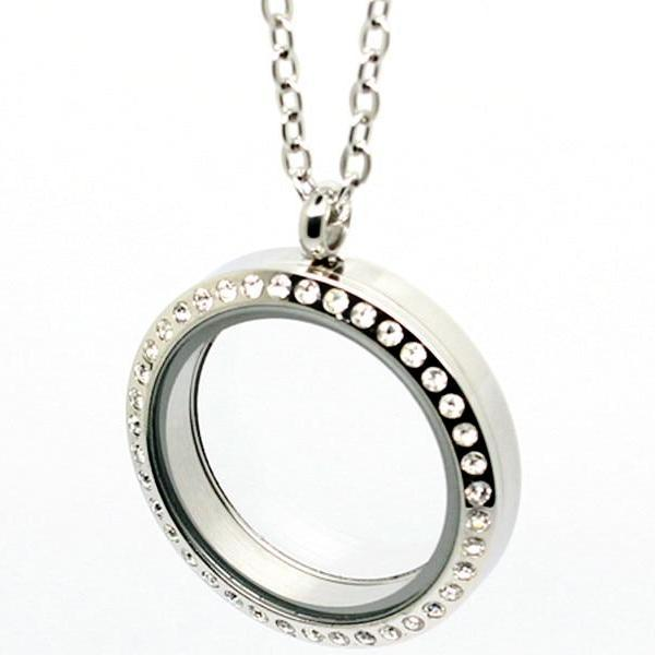 U JEWELRY® - Necklace with hollow pendant