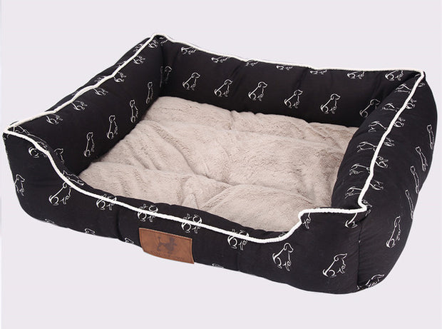 Breathable and waterproof luxury bed for pets