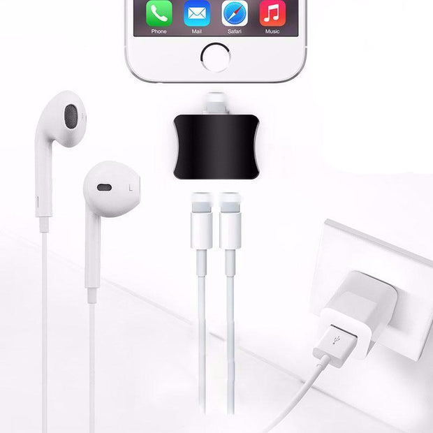 2-in-1 audio adapter for iPhone