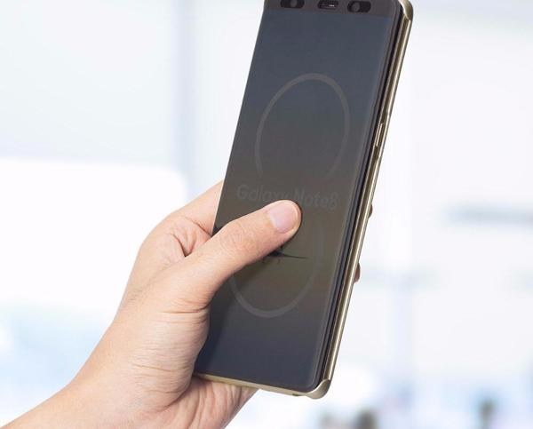 Intelligent Full-Screen Case for Samsung Galaxy Note 8