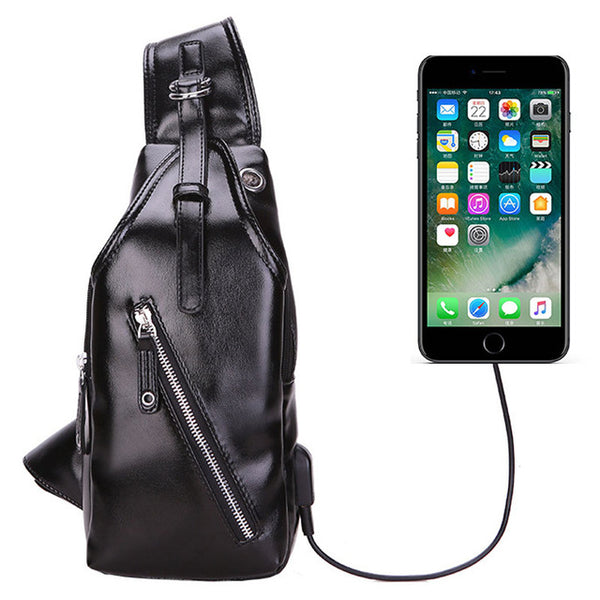 Faux Leather Intelligent Bag