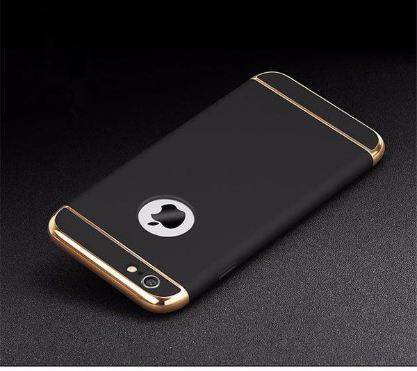 Case With Golden Inserts for iPhone