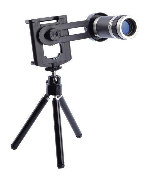 Universal Rotating Telescope with Tripod for Smartphone