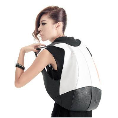 BASE backpack/bag - High tech design, embossed leather, anti-theft