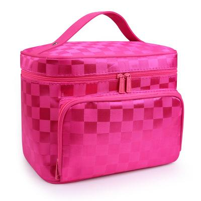 Luxury Travely Beautycase™ with Damier motif