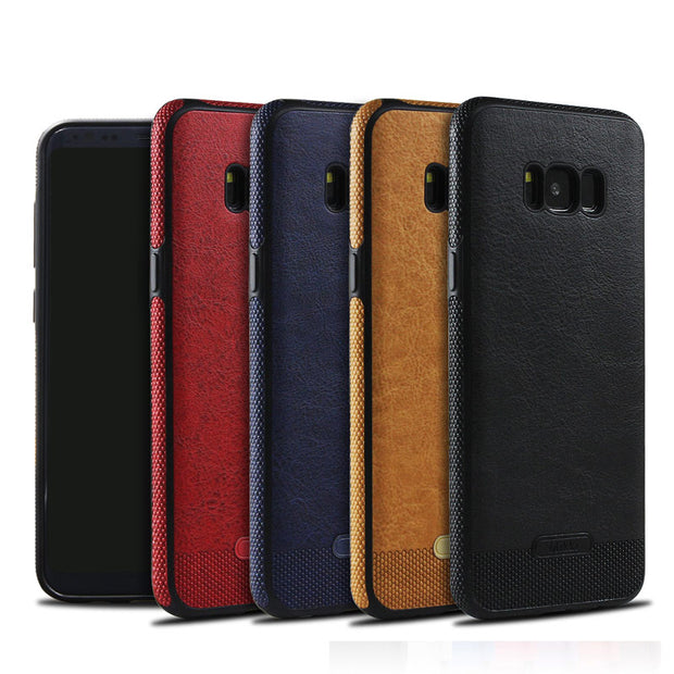 Vintage PU Leather Case for Samsung