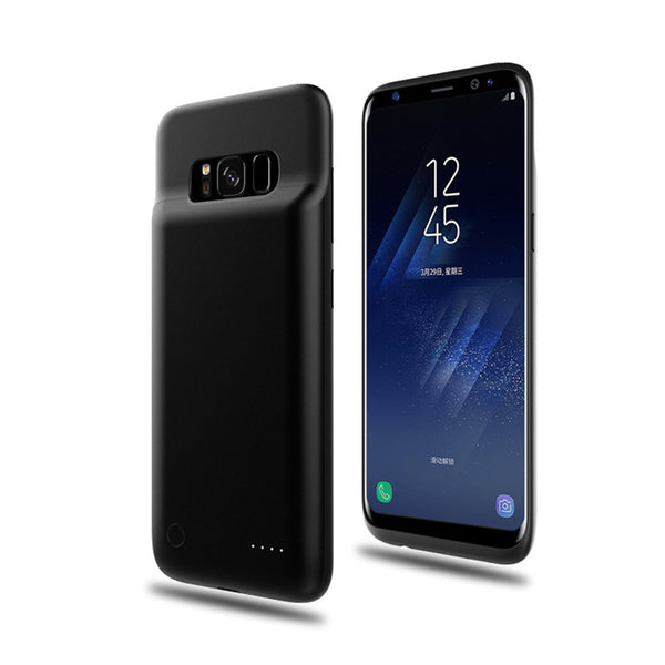 huge selection of a91c2 4bd87 Luxury Ultra Slim Battery Case for Samsung S8 e S8 Plus