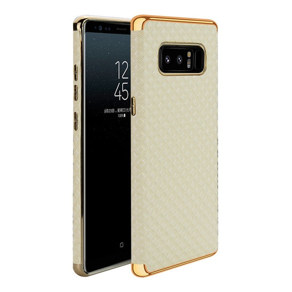 3D Case With Golden Inserts for Samsung