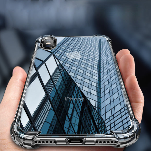 Ice-Effect Crystal Case for iPhone
