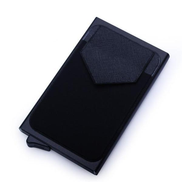 Backy® - aluminum wallet with rear pocket (RFID technology)