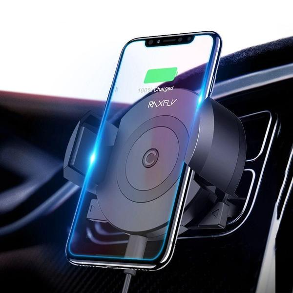 AutoLock™️ - Qi wireless charger for cars