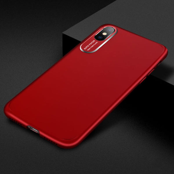 Auto focus - camera protection case for iPhone
