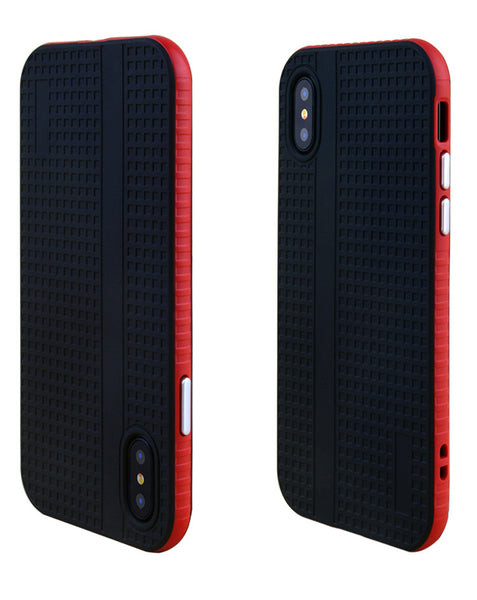 Anti-crash and shock-absorber case for iPhone