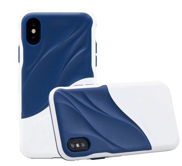 3D double layer water case for iPhone X