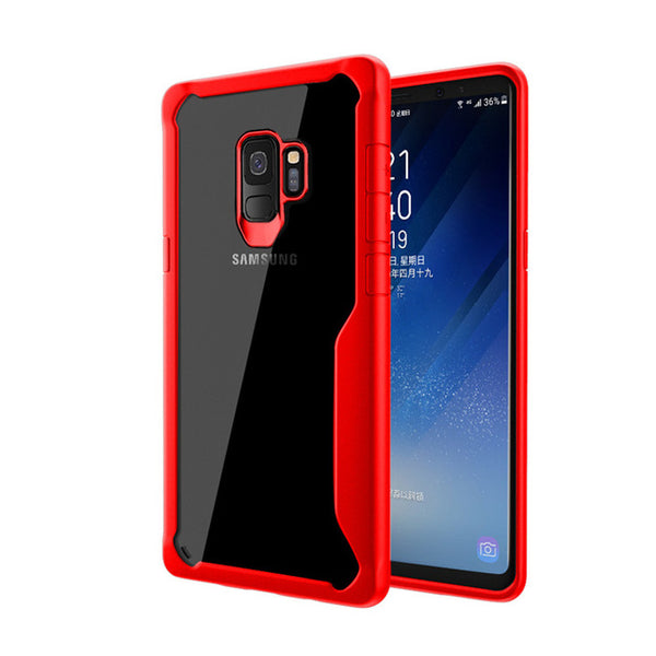 Reinforced Crystal case for Samsung S9/S9 Plus