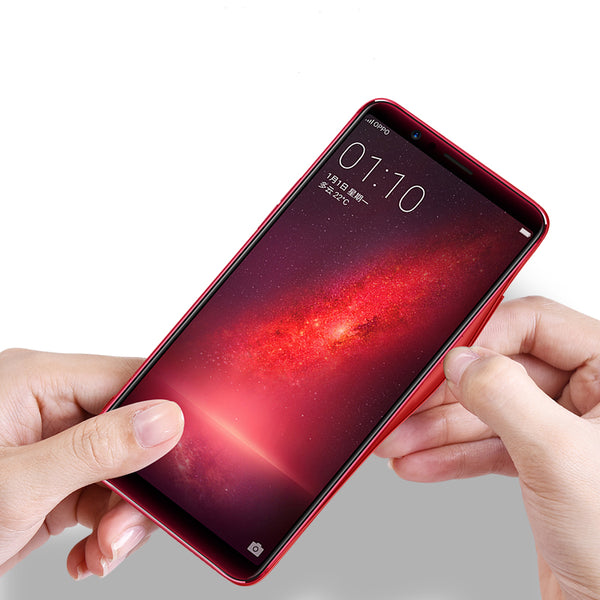 Back Tempered 4D Glass ABS case for Huawei