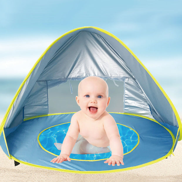 Baby beach - anti UV tent with mini pool