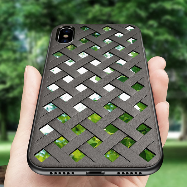 2-layers (with reflective glass) case for iPhone